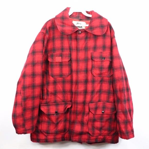 0e619275824b9 Woolrich Jackets & Coats | Vintage Wool Tartan Plaid Hunting Jacket ...